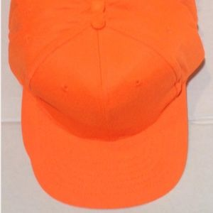 Other - Wholesale Neon Orange Caps (12 Caps)